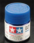 Tamiya 81504 Acrylic Mini X-4 Blue 1/3 oz