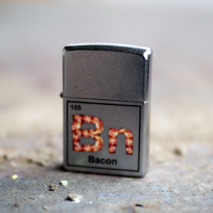 Bilde av Zippo - Bacon Element - Street Chrome